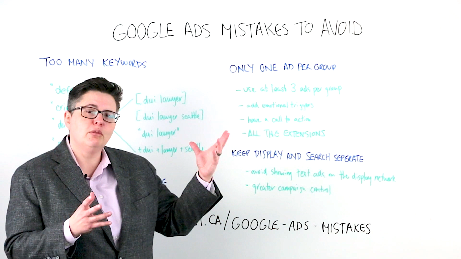 Google Ads Mistakes to Avoid – Whiteboard Friday