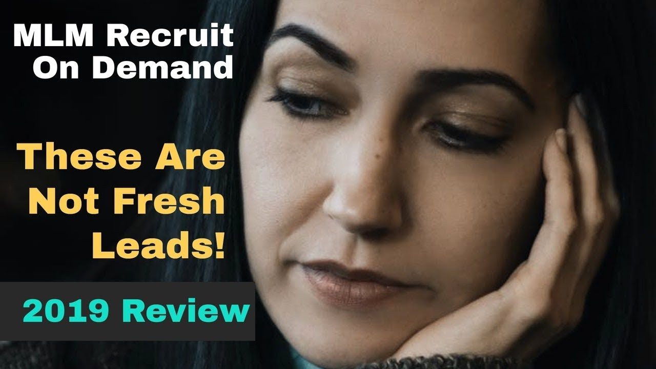MLM Recruit On Demand Review (These Are Not Fresh Leads) 2019