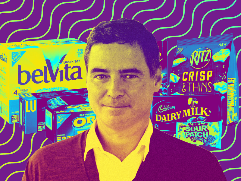 Mondelēz CMO Martin Renaud on balancing a diet of data and snacking