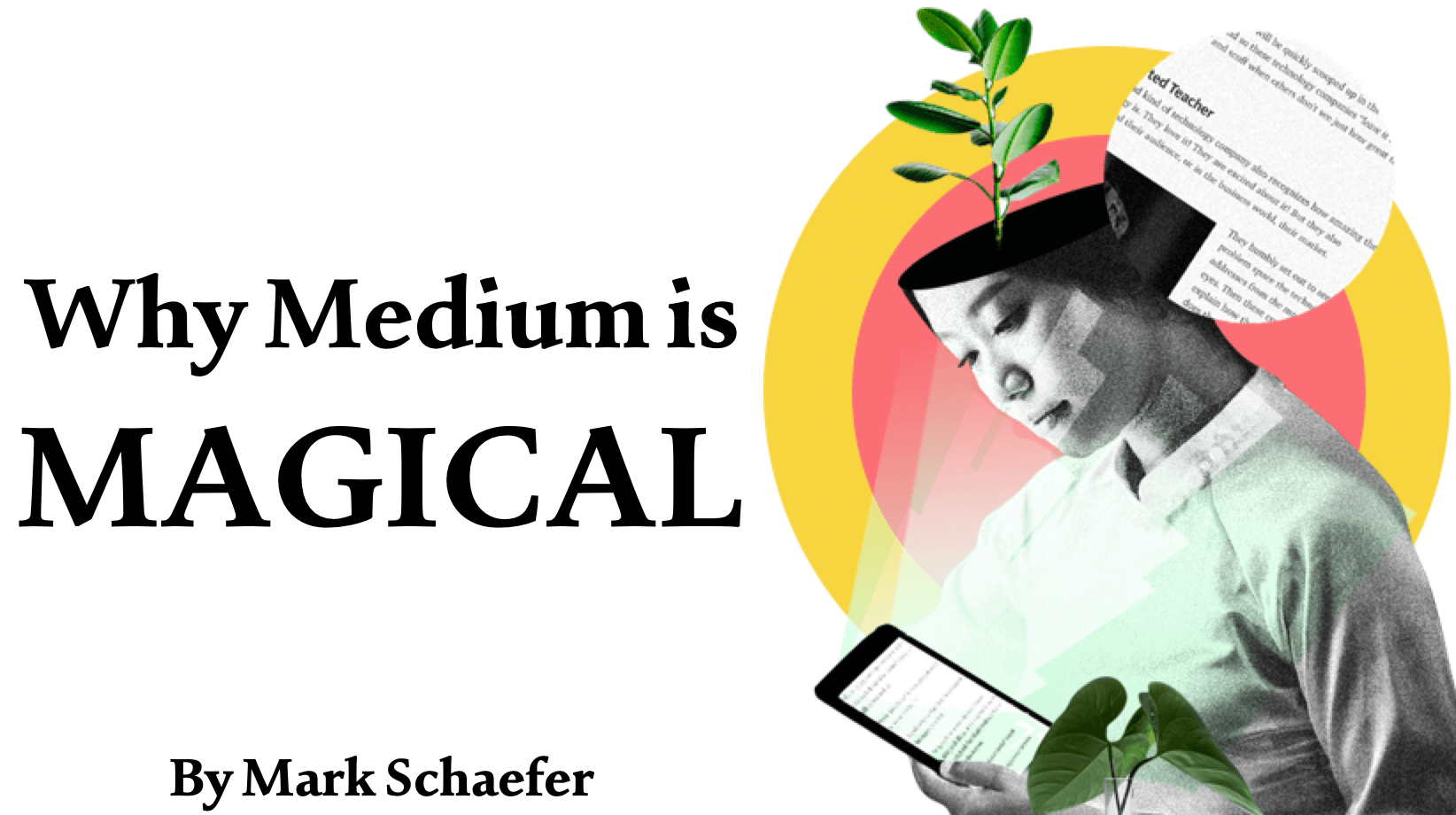 Why you need to climb aboard Medium, the magical home of the written word