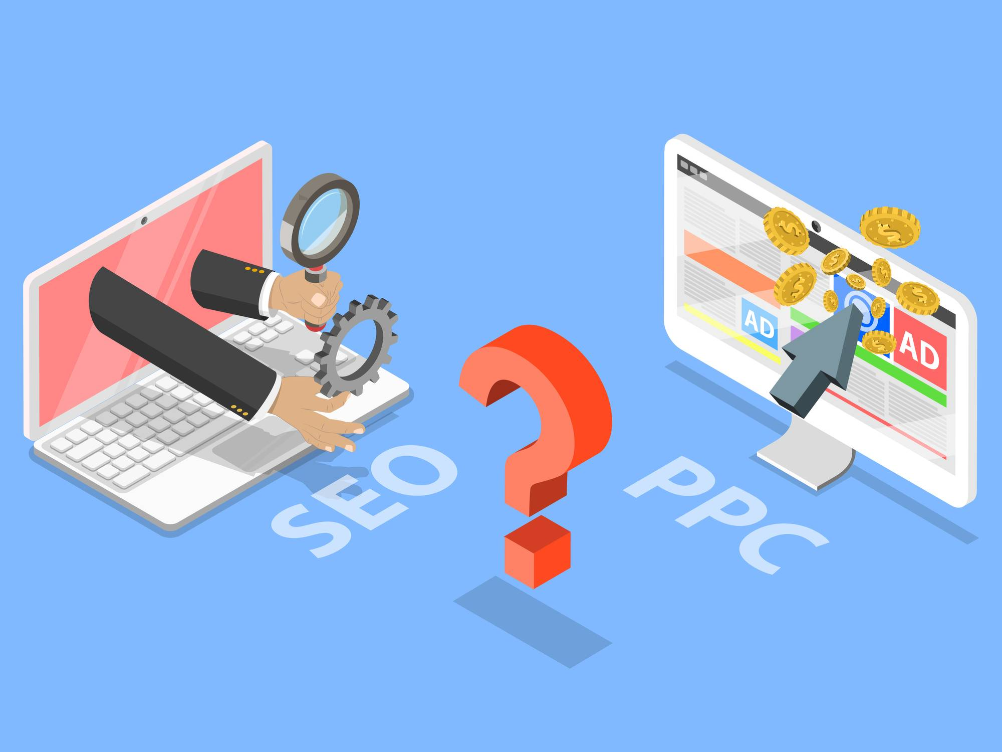 B2B Lead Generation Strategy: Comparing SEO vs. PPC
