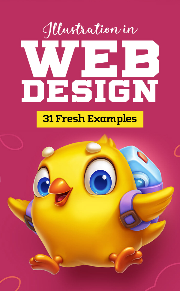 Illustration in Web Design – 31 Fresh Examples