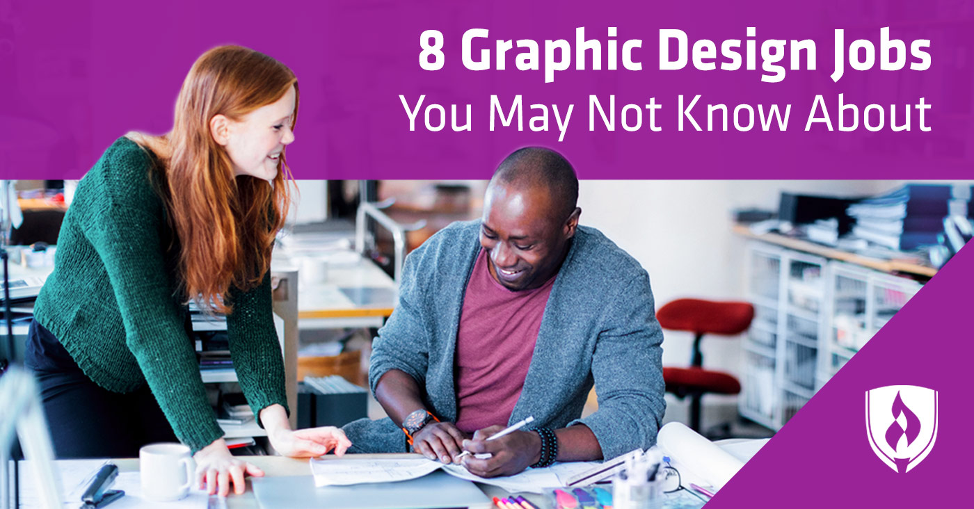 8 Types of Graphic Design Jobs You May Not Know About