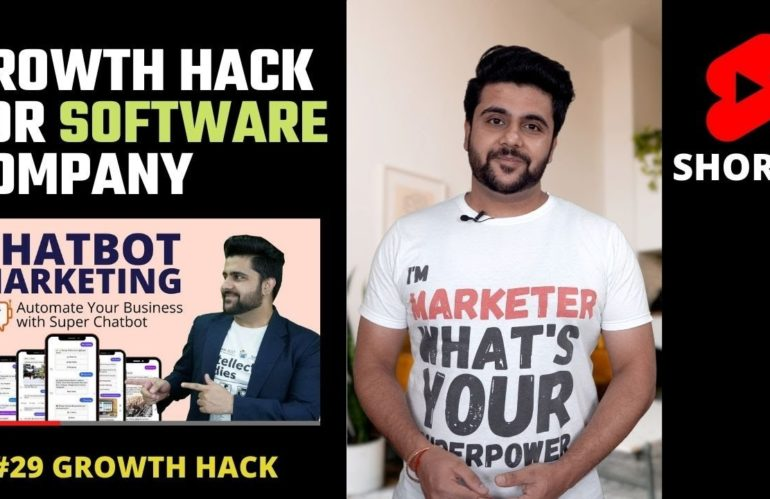 Growth hack for Software Company #Shorts | Growth Hack
